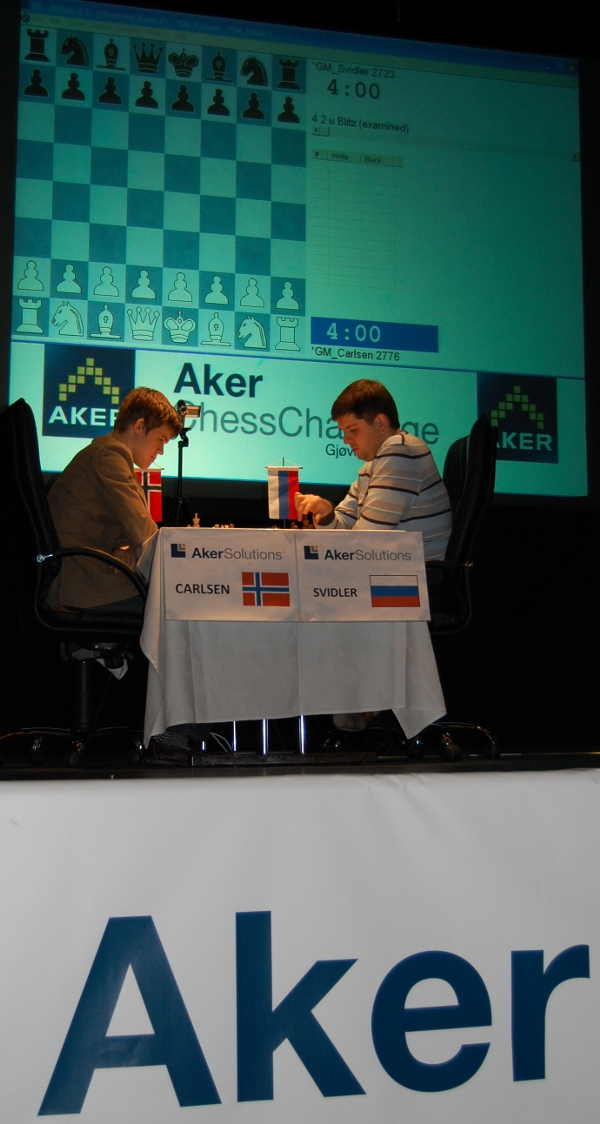 Carlson beats Svidler on Sunday